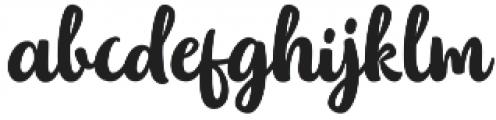 Bellatine Pro otf (400) Font LOWERCASE