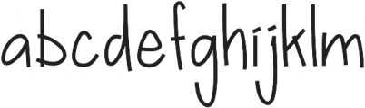 Bellequinas otf (400) Font LOWERCASE