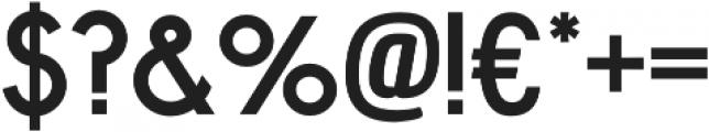 Bellerose Pro otf (700) Font OTHER CHARS