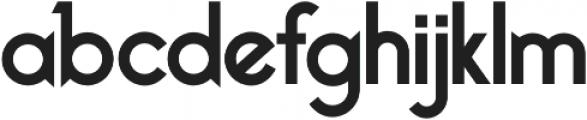 Bellerose Pro otf (700) Font LOWERCASE