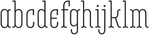 Belleville07H FY Light otf (300) Font LOWERCASE