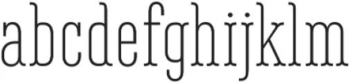 Belleville13H FY Light otf (300) Font LOWERCASE