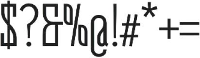 Belleville19H FY otf (400) Font OTHER CHARS