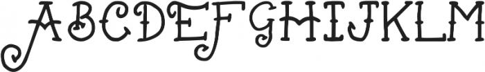 Bellfield by Mark Richardson otf (400) Font UPPERCASE
