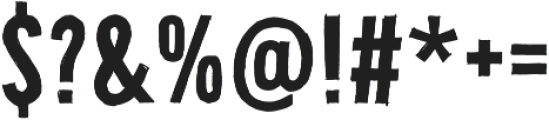 Bellfort Draw Dark otf (400) Font OTHER CHARS