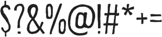 Bellfort Draw Rough otf (100) Font OTHER CHARS