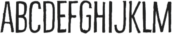 Bellfort Draw Rough otf (100) Font UPPERCASE