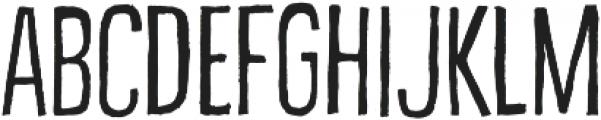 Bellfort Draw Rough otf (100) Font LOWERCASE