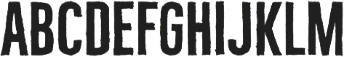 Bellfort Draw Rough otf (400) Font UPPERCASE