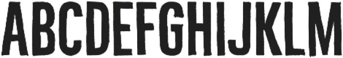 Bellfort Draw Rough otf (400) Font LOWERCASE