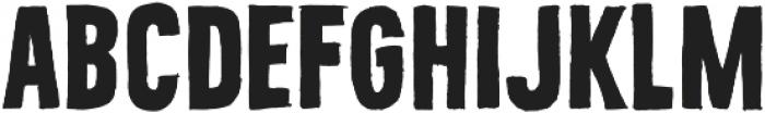 Bellfort Draw Rough otf (700) Font UPPERCASE