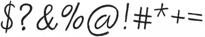 Bellfort Draw Script otf (400) Font OTHER CHARS