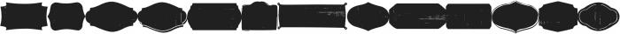 Bellfort Extra otf (400) Font LOWERCASE
