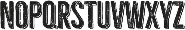 Bellfort Press Shadow otf (400) Font UPPERCASE