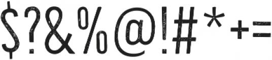 Bellfort Press otf (100) Font OTHER CHARS