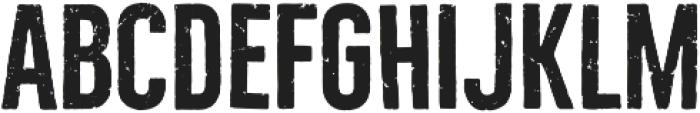 Bellfort Rough otf (700) Font LOWERCASE