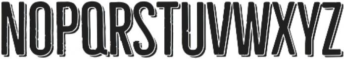 Bellfort Shadow otf (300) Font UPPERCASE