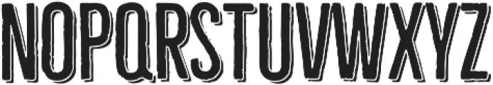 Bellfort Shadow otf (300) Font LOWERCASE