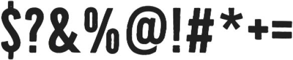 Bellfort otf (700) Font OTHER CHARS