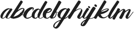 Belligerent otf (400) Font LOWERCASE