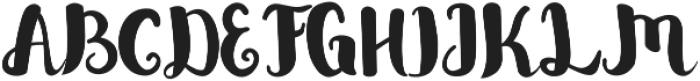 Bellina ttf (400) Font UPPERCASE