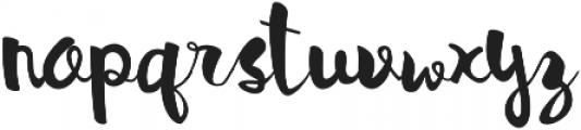 Bellina ttf (400) Font LOWERCASE