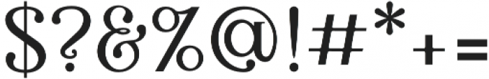 Bellington Serif otf (400) Font OTHER CHARS