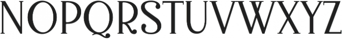 Bellington Serif otf (400) Font UPPERCASE