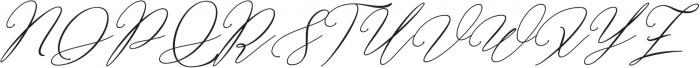 Bellisia Bold Italic otf (700) Font UPPERCASE
