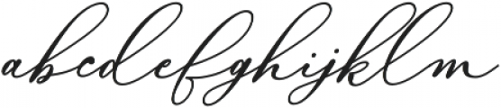 Bellisia Bold Italic otf (700) Font LOWERCASE