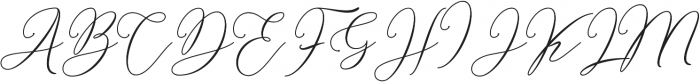 Bellisia Bold otf (700) Font UPPERCASE