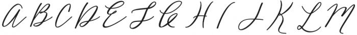 Bellonie otf (400) Font UPPERCASE