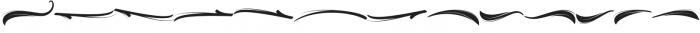 Bellsmore Brush Swashes otf (400) Font UPPERCASE
