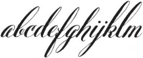 Belluccia Bold otf (700) Font LOWERCASE