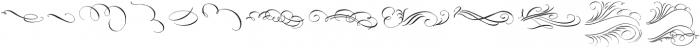 Belluccia Flourishes Regular otf (400) Font UPPERCASE