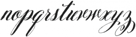Belluccia Pro Bold otf (700) Font LOWERCASE