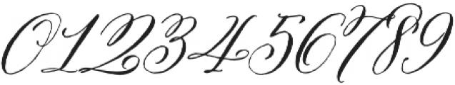 Belluccia Regular otf (400) Font OTHER CHARS