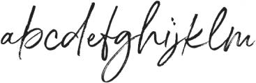 Belluga Alt otf (400) Font LOWERCASE