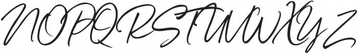 Belluga Slanted Solid otf (400) Font UPPERCASE