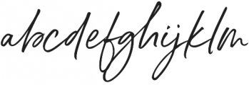 Belluga Slanted Solid otf (400) Font LOWERCASE