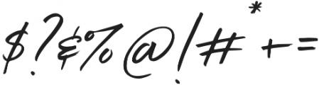 Belluga solid Slanted Alt otf (400) Font OTHER CHARS