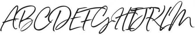 Belluga solid Slanted Alt otf (400) Font UPPERCASE