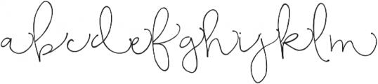 Bellwethers short swashes otf (400) Font UPPERCASE