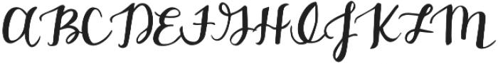 Belmarie Script v2 otf (400) Font UPPERCASE