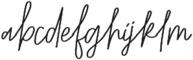 Belmont Bold Italic Alternates otf (700) Font LOWERCASE