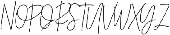 Belmont Italic Alternates otf (400) Font UPPERCASE