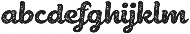 Belmonte Rough otf (400) Font LOWERCASE