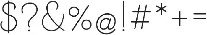 Beloved Sans otf (400) Font OTHER CHARS