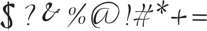 Beloved Script Regular otf (400) Font OTHER CHARS