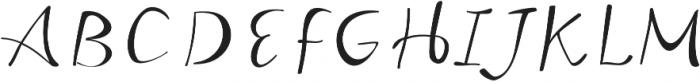 Beloved Script Regular otf (400) Font UPPERCASE